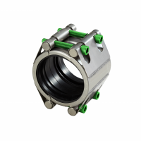 Slip type coupling with two locks high pressure (SDF) | AVK Repico | AVK Rewag